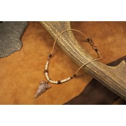 Pendant with flint arrowhead PA1707