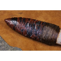 Couteau à lame en obsidienne C1705