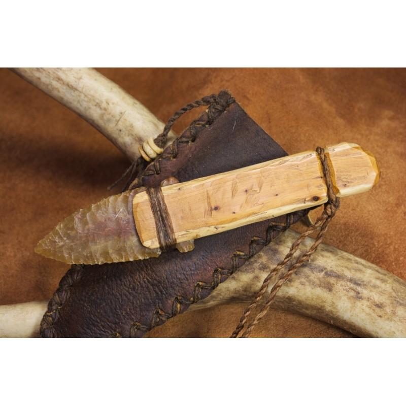 Ötzi style flint blade knife C1604